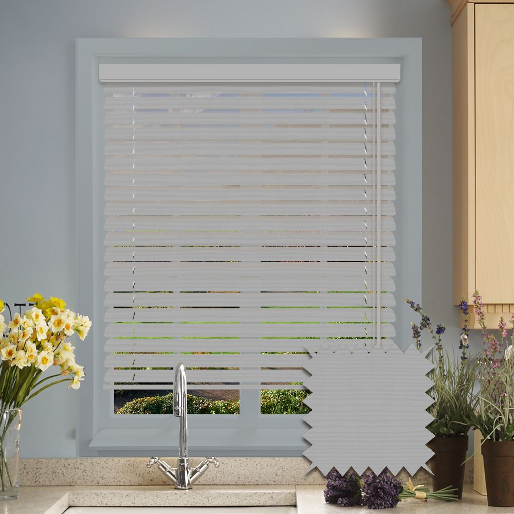 Faux Wood Venetian Blinds In Mission Fine Grain Just Blinds
